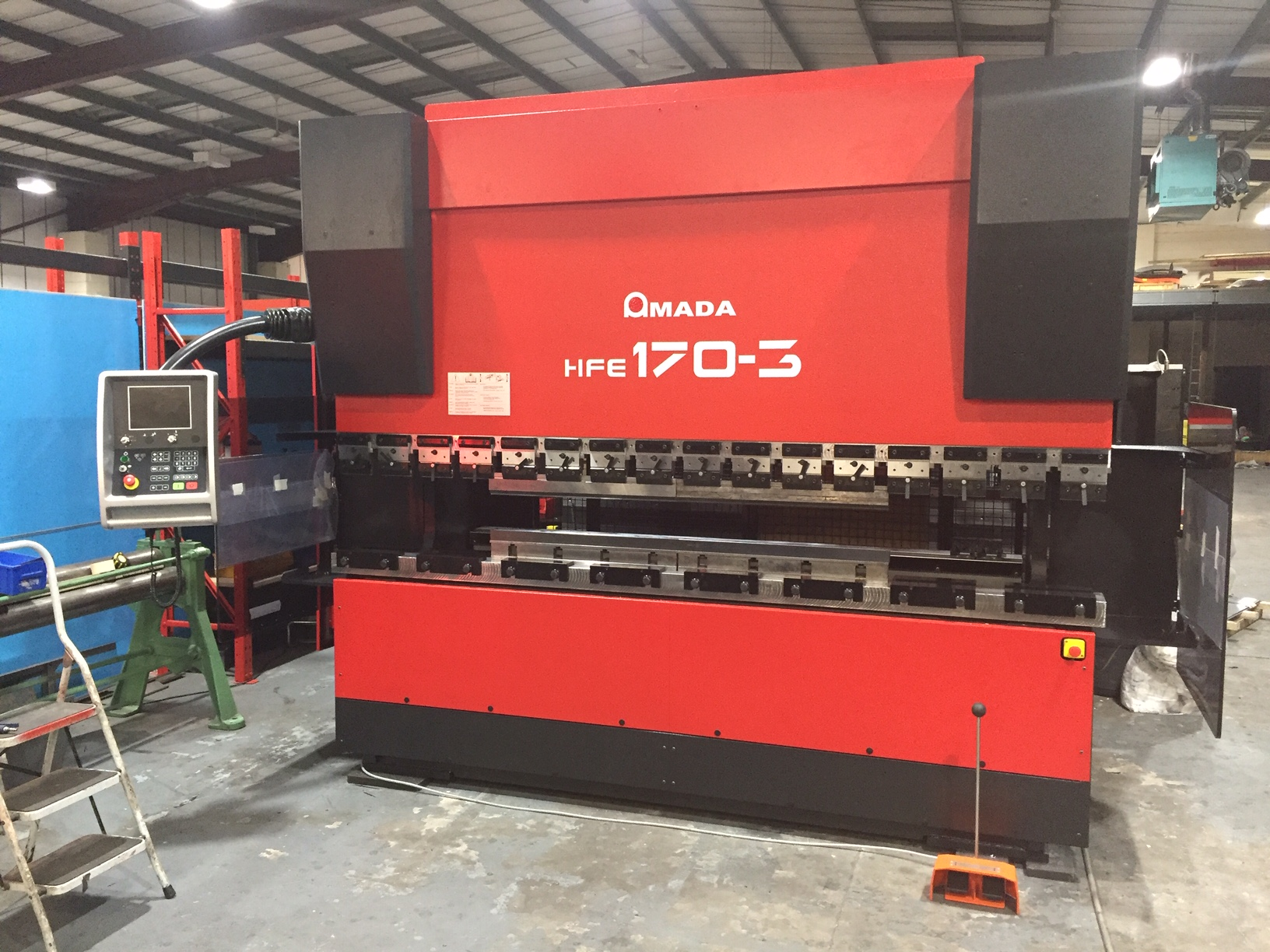 Amada HFE170t 3m 2003 | CNC Press brakes | Amada machines | Amada